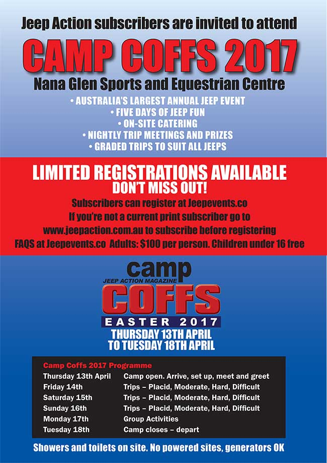 Camp Coffs 2017