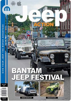 Jeep Action eMagazine Sept-October-2017 cover