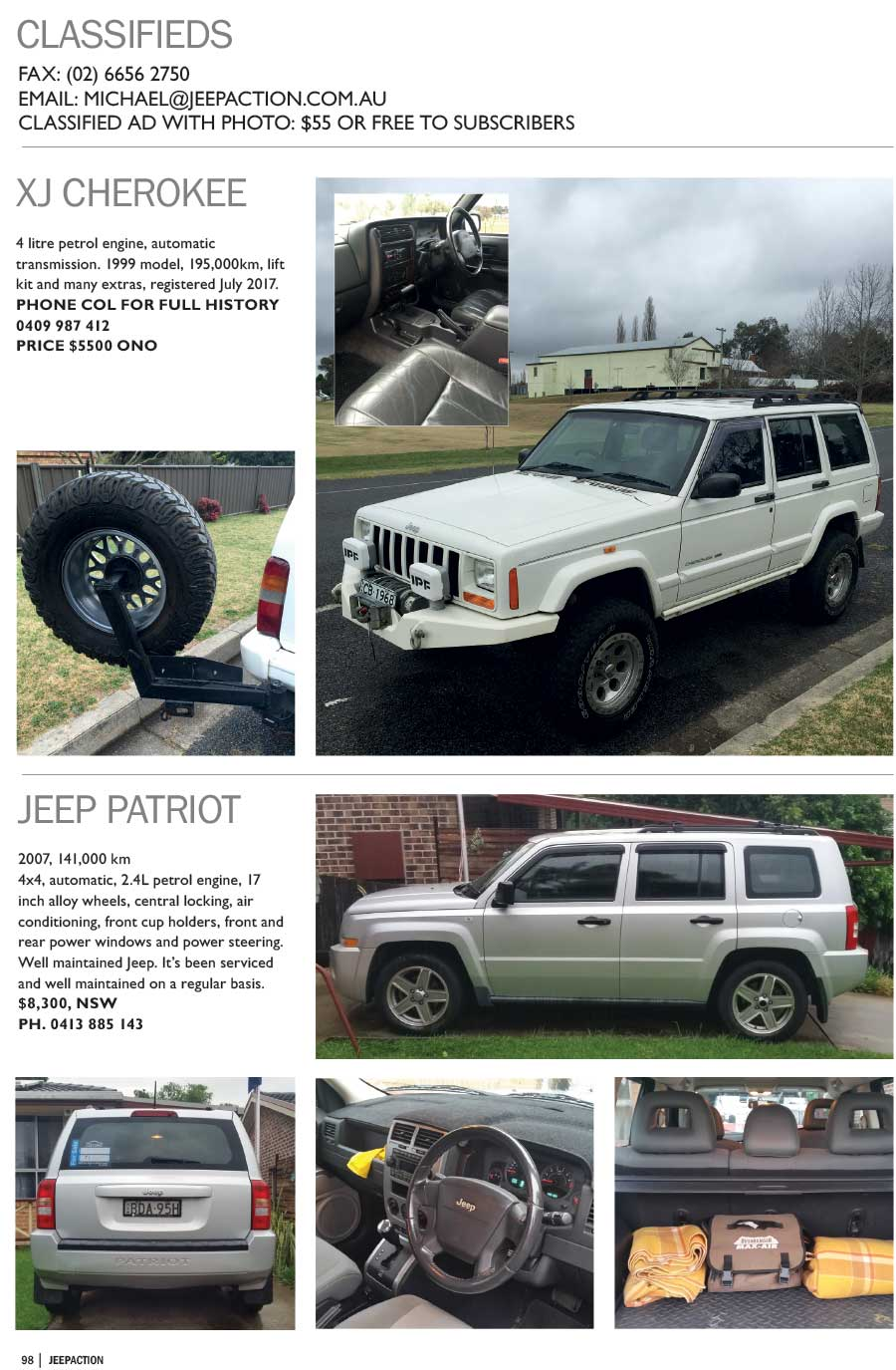 March-April 2017 - Jeeps for Sale