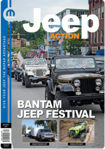 Jeep Action Magazine Sept-October-2017 cover