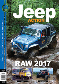 Jeep Action Magazine Front Cover Nov-Dec 2017