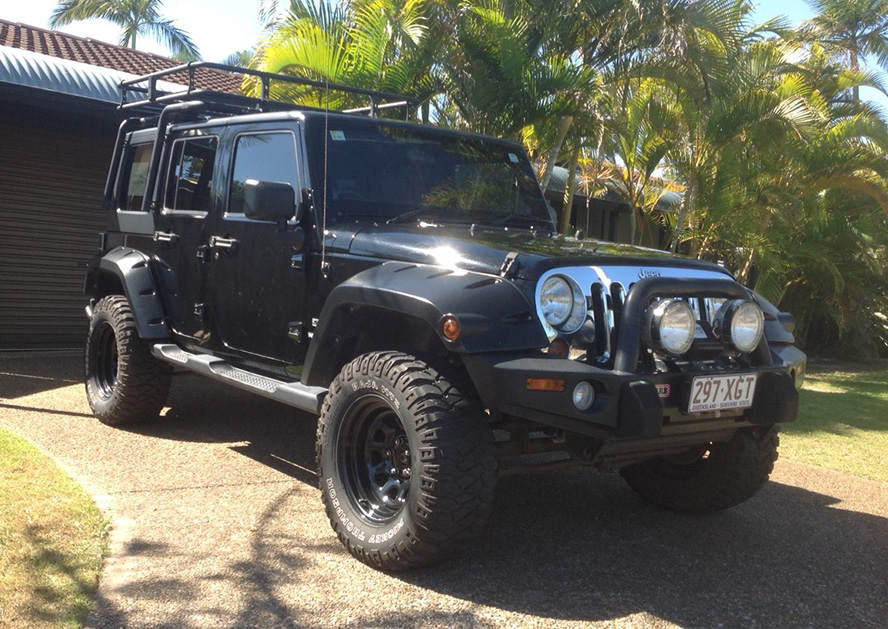 For Sale 2009 Jeep Wrangler Unlimited Sport My10 Jeep Action