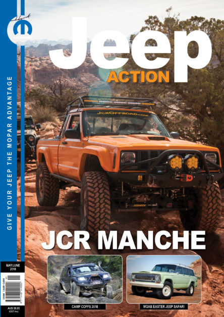Jeep Action Magazine January-February 2018 cover