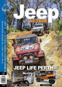 Jeep Action Magazine Sept-Oct 2018 cover